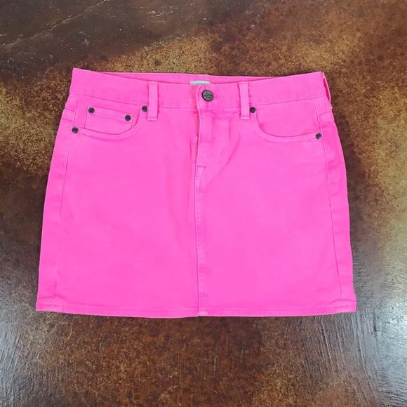 eebea3a9f9 J. Crew Skirts | Jcrew 29 Waist Short Pink Denim Skirt | Poshmark